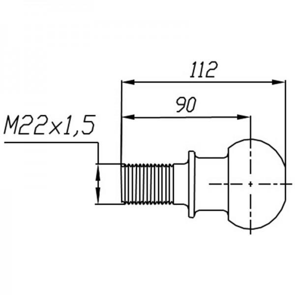 Kablio antgalis KL-3
