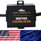 Adapteris iš US 4PIN į EU 7PIN